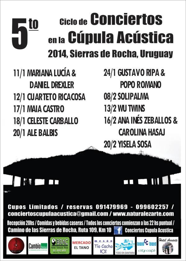conciertos cupula 2014