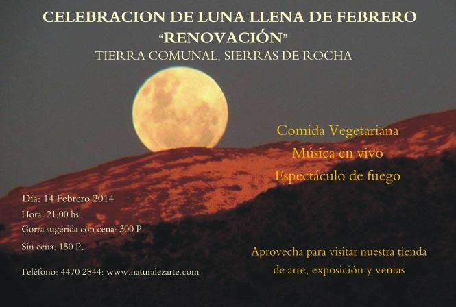 luna  14 febrero